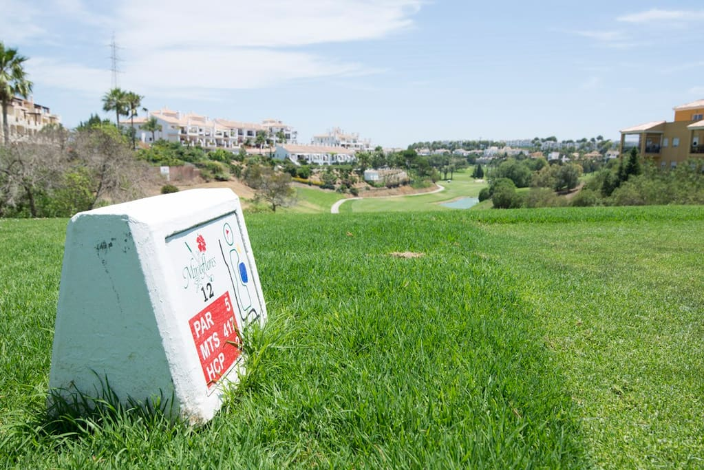 Miraflores Golf, next door.