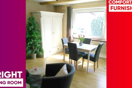 *Close to the castles* Cozy Apartment with garden