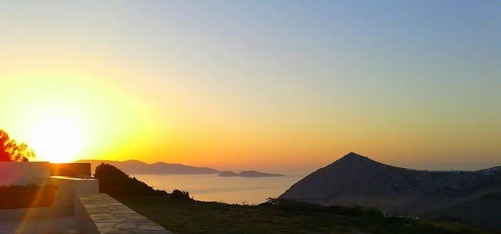 Best view in Ano Meria Folegandros