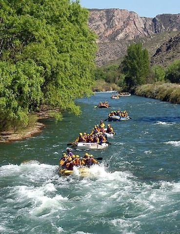 Rafting a Subiaco