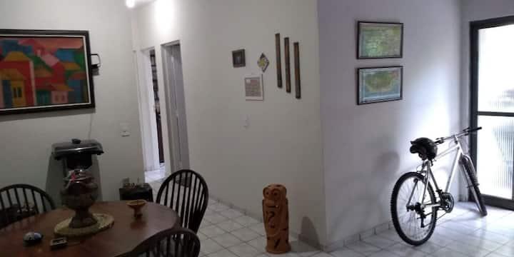 Apartamento relax e bucólico