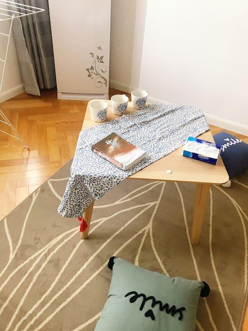 努力打造的舒适两居 细节见品味 德宝餐巾纸