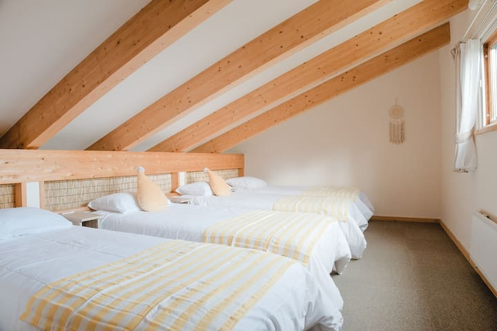 Nakafurano B.J club・LavenderA・Forest Loft Cottage