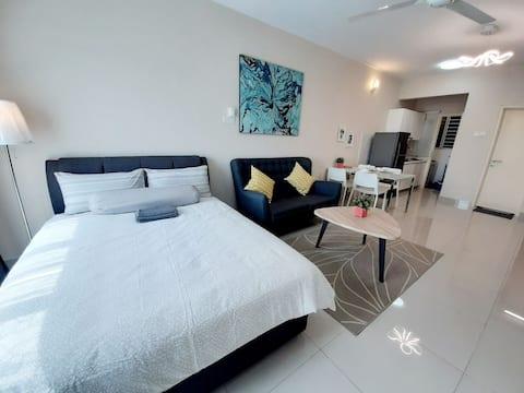 Homey Galleria suite A-10-12 Seri Kembangan WIFI