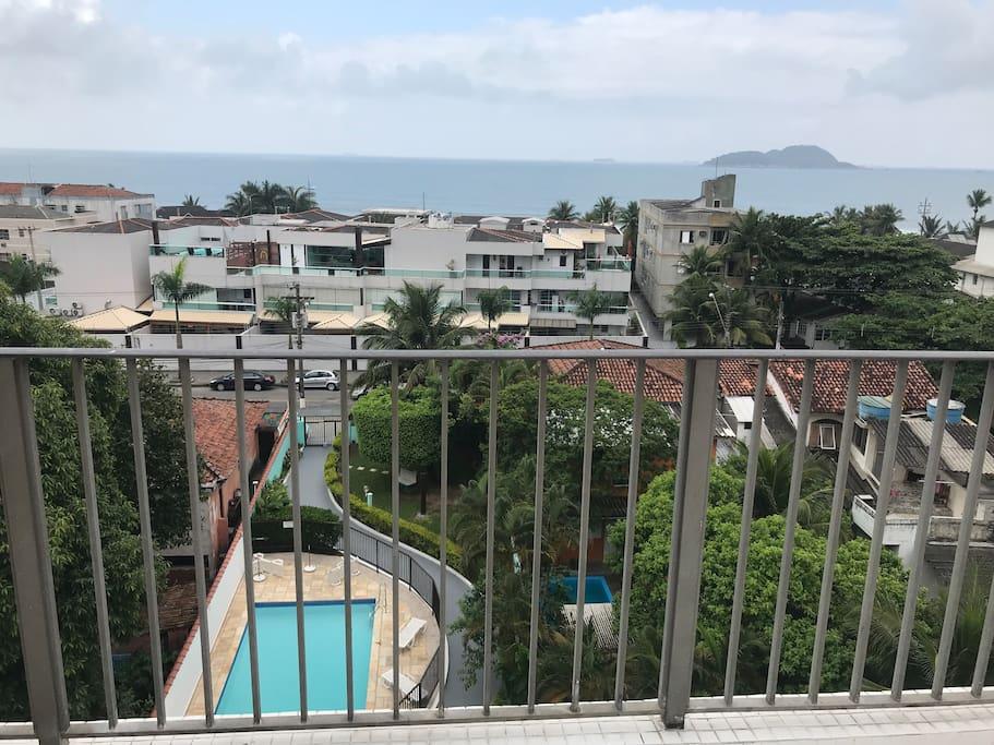Vista da piscina adulto - Area da frente