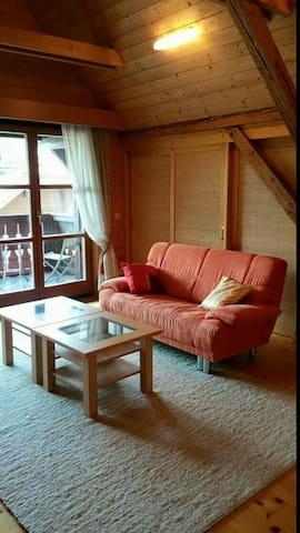 Ferienwohnung H&H, Appartement B - Pritschitz - Lejlighed