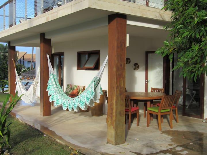 Taíba Beach Resort - Térreo - 3 Suítes (8 pessoas)