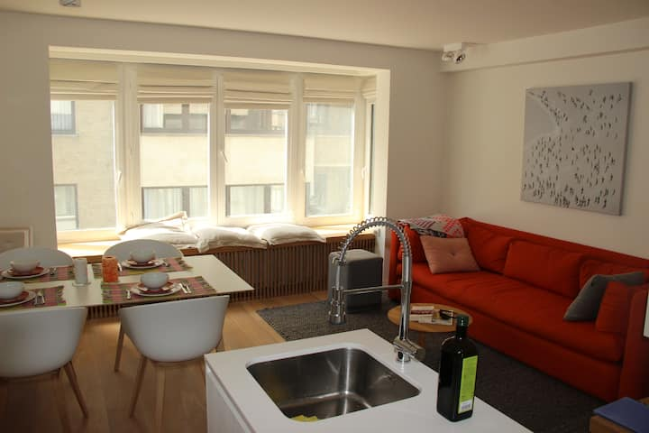 joli appartement cosy à 30m de la digue