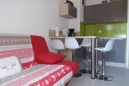 Studio avec alcove, rénové au pied des pistes - Saint-Agnan-en-Vercors