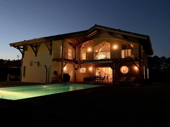Superbe Villa et son chalet indépendant.