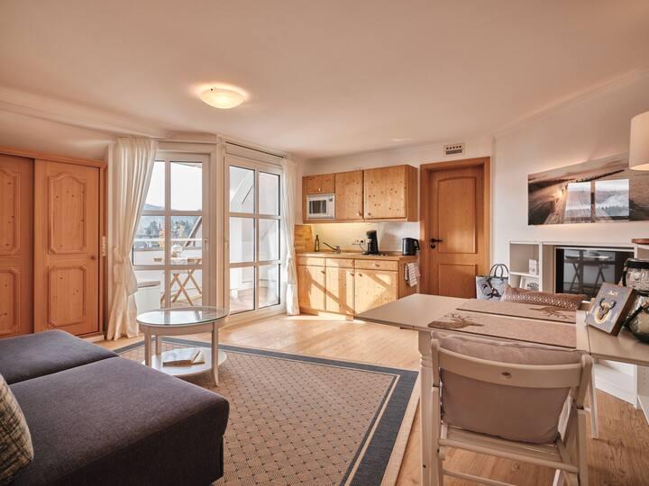Villa Sunside Appartements und Ferienwohnungen Schluchsee, (Schluchsee), Appartement Sunset, 28qm, 1 Wohn-/Schlafzimmer, max. 2 Personen