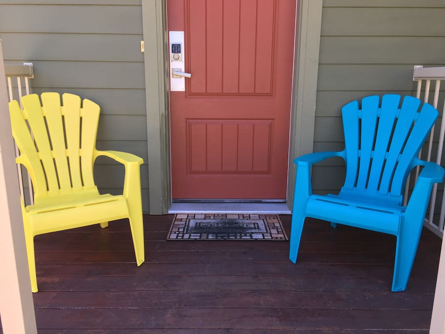 Front Entry Deck Chairs