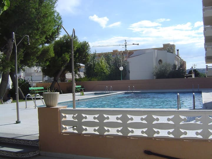Apartments with swimming pool. Ref. Voramar-4