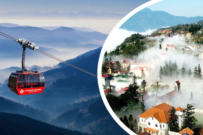 Sapa tour: Town in clouds