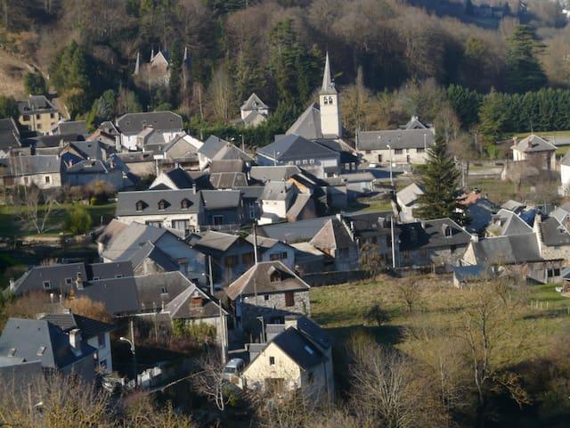 Maison de village au coeur des pyrénées - Marignac - 단독주택