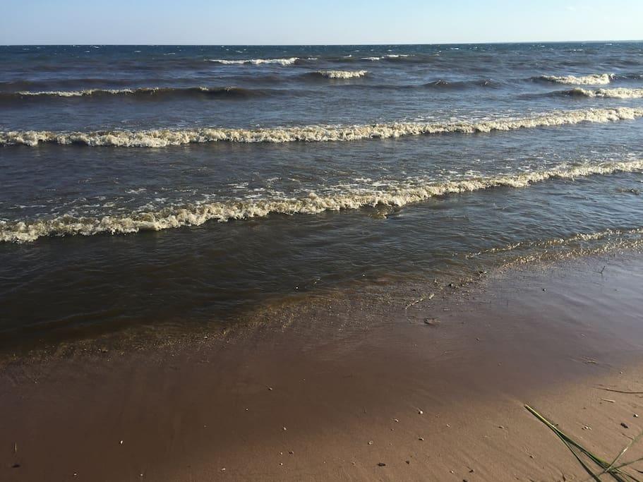 Beach  *bring watershoes