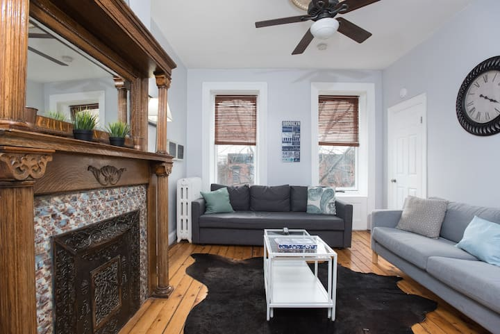 Updated & Clean 3bed/1bath Apt. 15 Min to NYC!