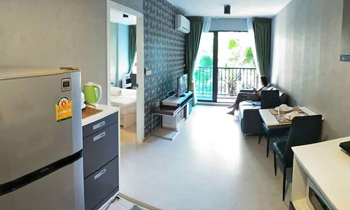 Cool Zcape3 Phuket Town*Near Shopping Mall