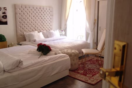 Bed and breakfast. Cairo, Egypt.