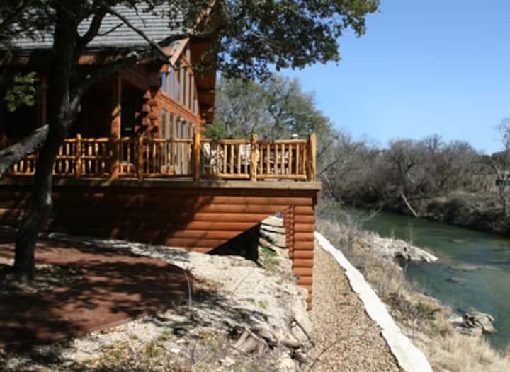 The Log Cabin at Texas Safari Ranch