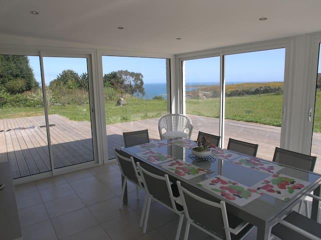 Maison avec vue sur mer - Maupertus-sur-Mer - Casa de férias
