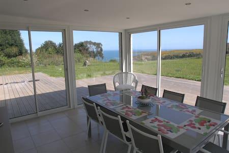Maison avec vue sur mer - Maupertus-sur-Mer - Ferienunterkunft