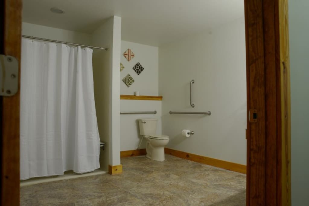 Large Bathroom with Huge Shower
