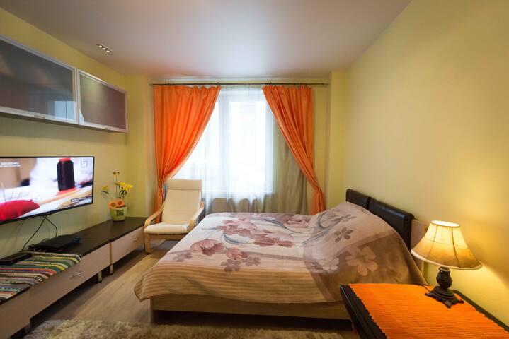 Апартаменты Изумрудные Холмы Крокус Экспо - Krasnogorsk - Apartment