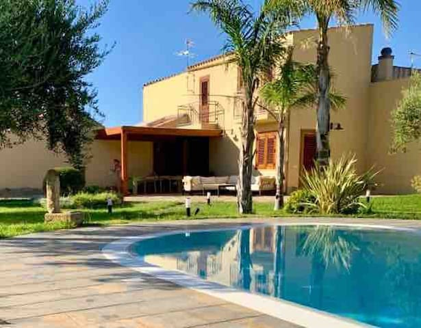 Villa Martina, Swimming Pool, barbecue
