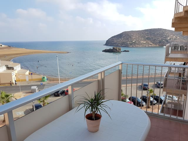 Apartment on the shores of the Mediterranean Sea - Puerto de Mazarrón - Apartment