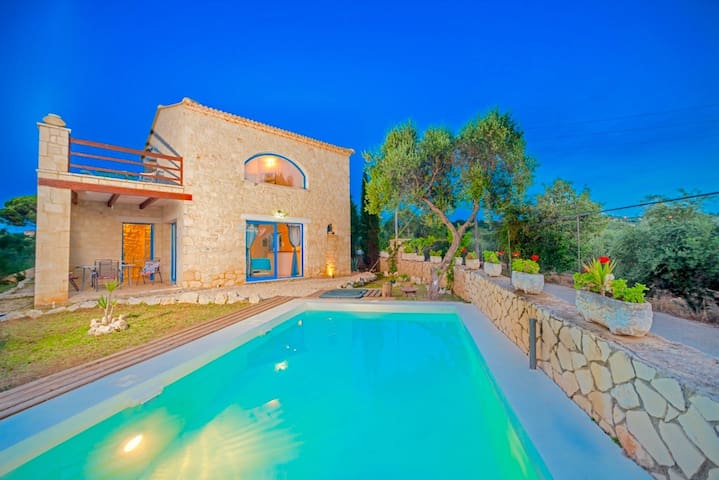 Beach Villa Nout with private swimming pool