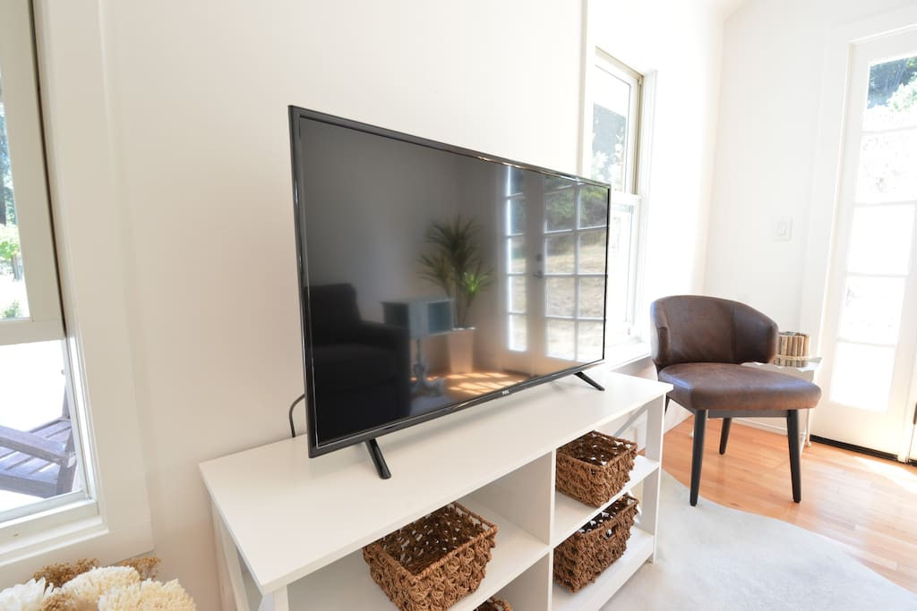 Smart TV with cable and Roku