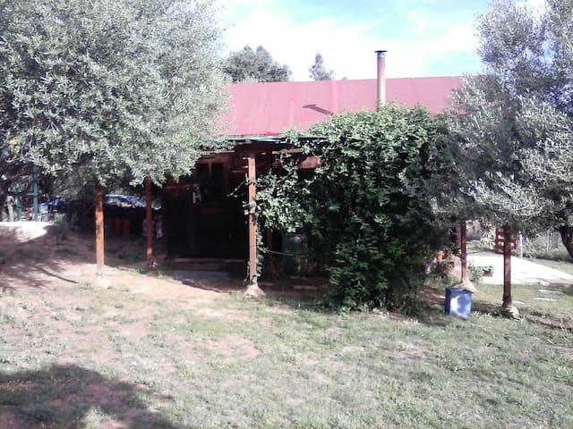 Villa Kunterbunt. Finca permacultura. - Valverde del Camino - Stuga