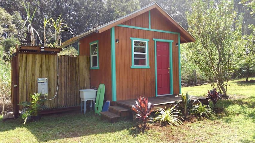 Bebo's Basecamp near Waipio, Hapuna, Hilo, Kona