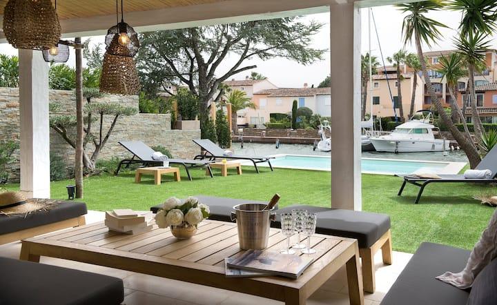 Villa Lostan 5* - Piscine chauffée - Port Grimaud