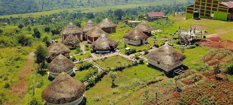 Private Traditional Hut
