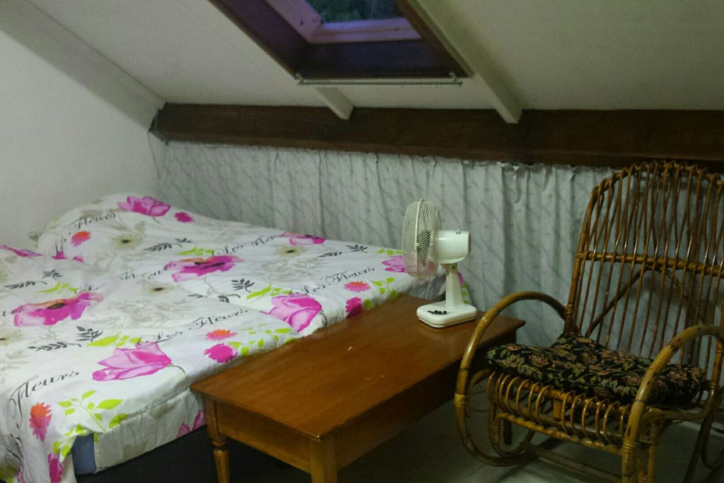 Bedroom for 1 or 2 persons