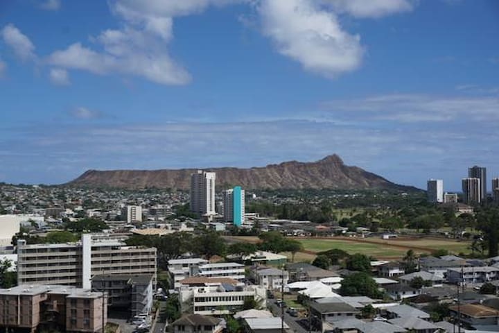 Diamond Head-Waikiki View