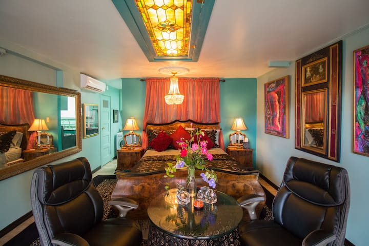 Grace Kelly Room, Bogart's B&B - Navasota - Penzion (B&B)