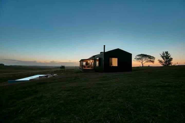 Refugio en Garzón. Paisaje, naturaleza y diseño.