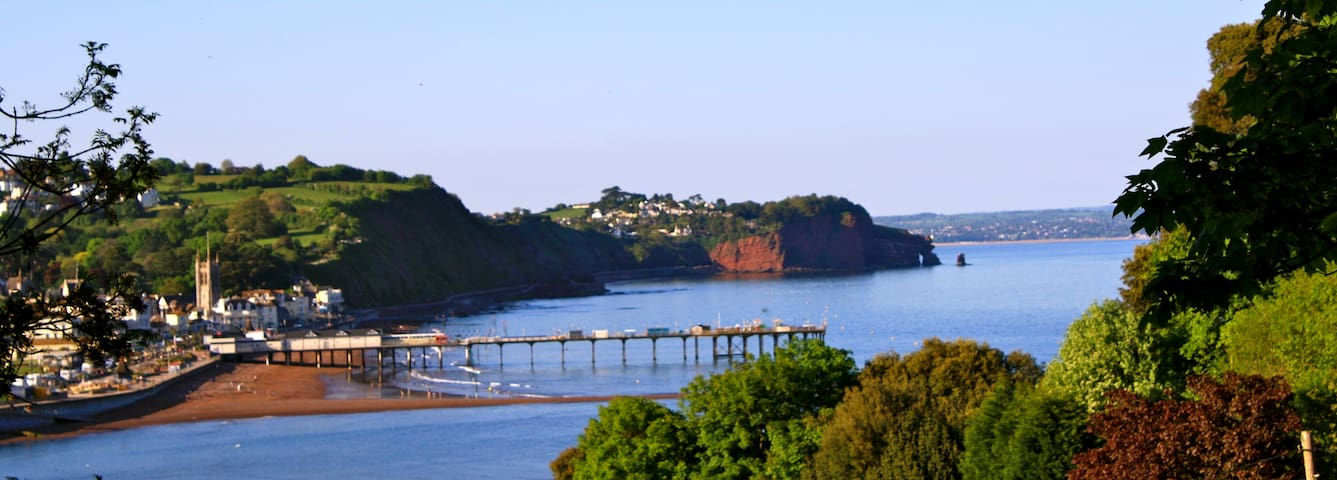 Lovely apartment with sea views in quiet location - Teignmouth