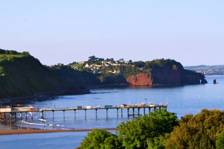 Lovely apartment with sea views in quiet location - Teignmouth - Lägenhet