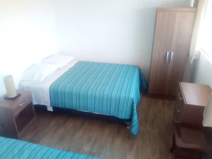 Habitación Matrimonial en 2do piso c/vista al mar