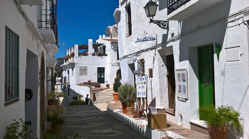 Lovely house for rent in typical morisco style... - Frigiliana - Ev
