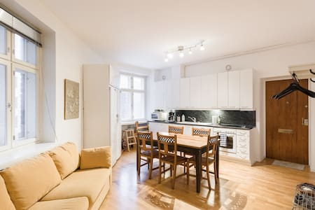 Cozy and super central 60m2 family apartment - Helsinki
