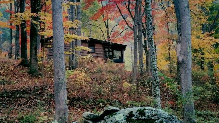 private mountain cabin