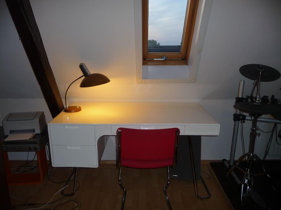 mein Schreibtisch