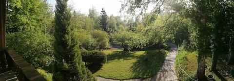 Trosoban stan na jezeru Wörthsee Seeblick u blizini Minhena