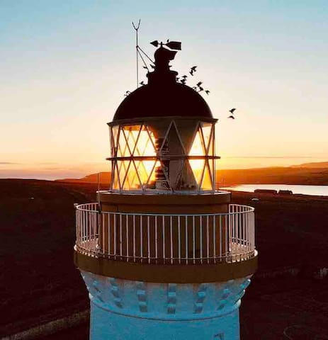 New: Cantick Head Lighthouse Cottage