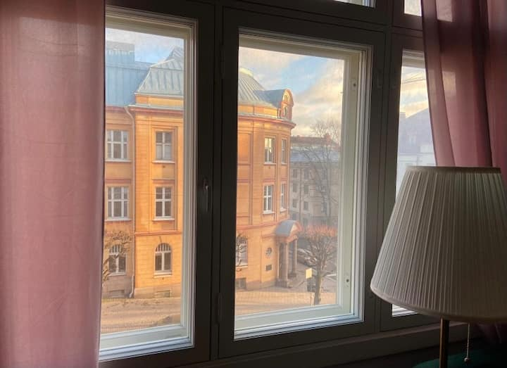101year old apartment on the Turku Art Museum hill